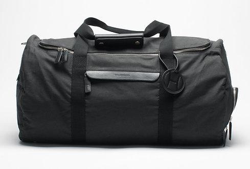 Large Duffle Weekend Bag Black