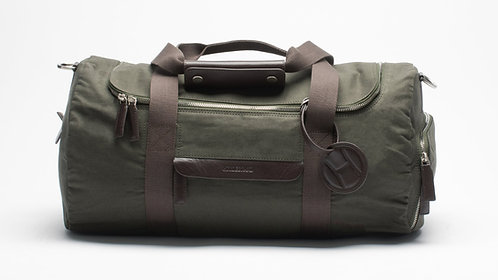 Small Weekend Bag Olive Green