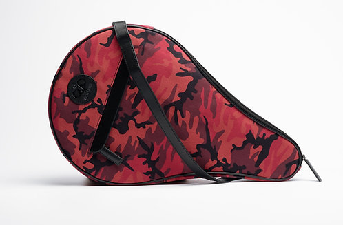 Padel Case Red Camouflage
