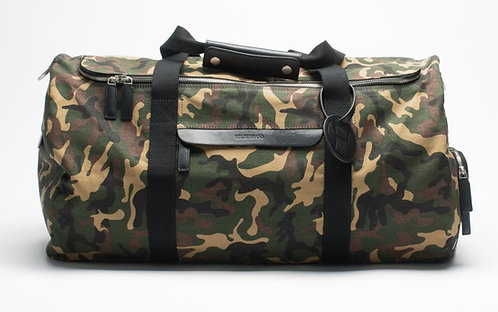 Large Duffle Weekend Bag Camouflage