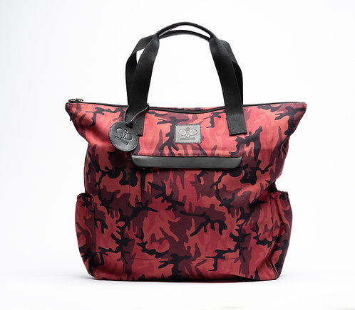 Padel Tote Red Camouflage
