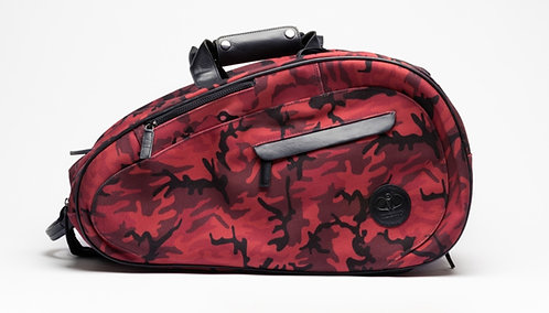 Padel Bag Red Camouflage