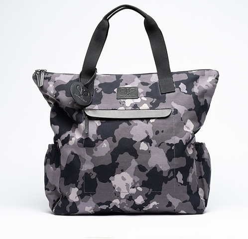 Tennis Tote Grey Camouflage