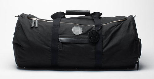 Tennis Duffle Bag Black, H logo