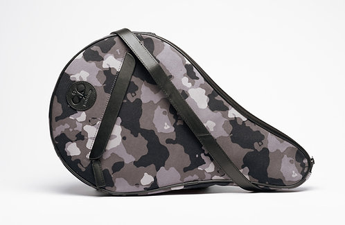 Padel Case Grey Camouflage