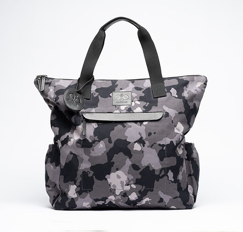 Padel Tote Grey Camouflage