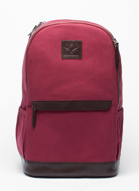 Tennis Back Pack Burgundy