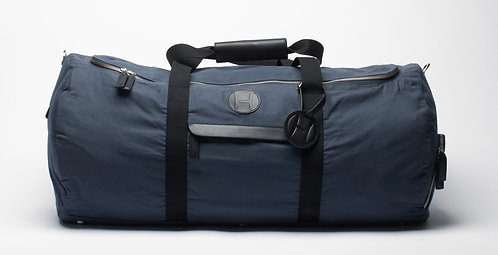 Tennis Duffle Bag Blue, H logo