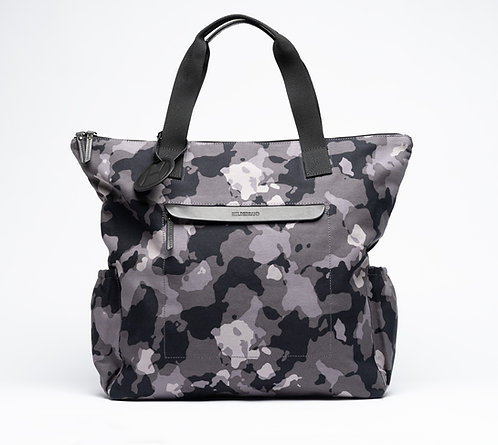 Tote Bag Grey Camouflage