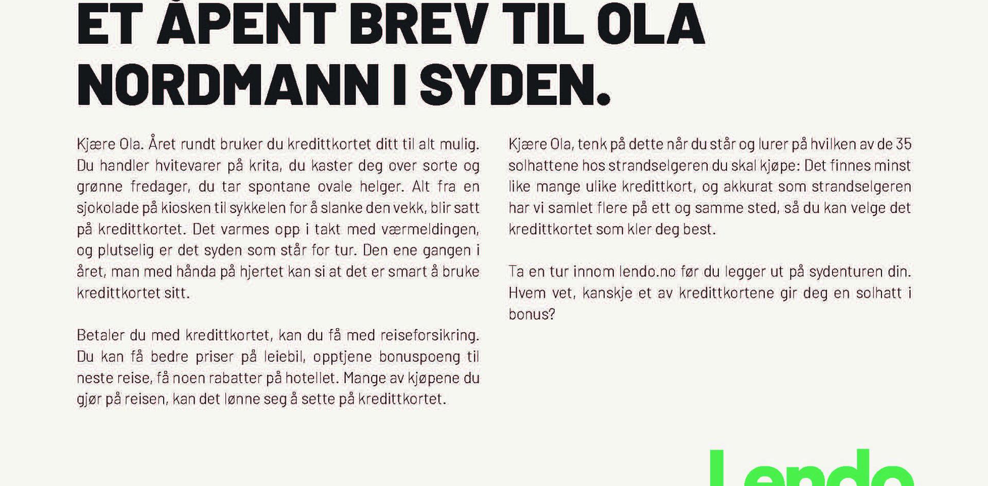 Aftenposten - Kredittkortfella