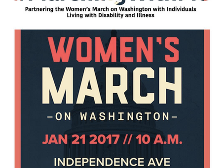 #MarchingWithMe