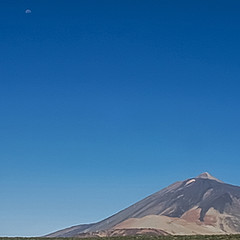 Le Teide et la Lune