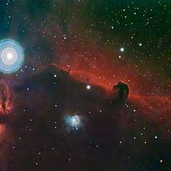 IC434 - Nébuleuse de la Tête de Cheval & NGC2024 - Nébuleuse de la Flamme