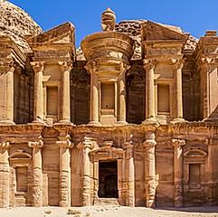 Al Deir, « le Monastère », Pétra, Jordanie