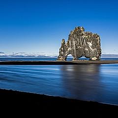 Hvítserkur, Islande