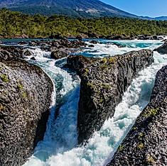 Volcan Osorno et chutes de Petrohué, Région des Lacs