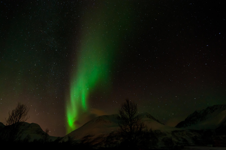 Aurore Boréale, Tromsø, Norvège