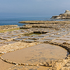 Salines de Qbajjar, Marsalforn, Gozo