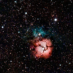 NGC6514 (M20) - Nébuleuse Trifide