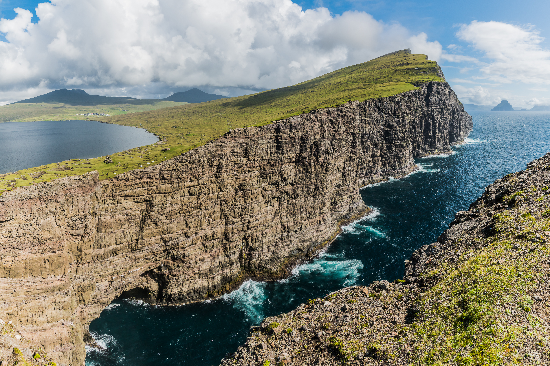 Lac de Sørvágsvatn, Îles Féroé