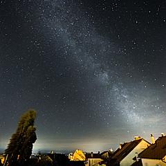 Voie Lactée depuis Cormondrèche