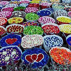 Marché aux fleurs de Kunming, Yunnan