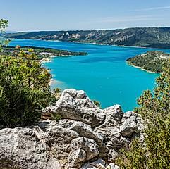 Lac de Sainte-Croix, Gorges du Verdon