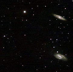 Triplet du Lion (NGC3627 ou M66, NGC3623 ou M65 &  NGC3628)