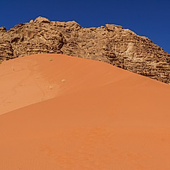 Dune de Sable Rouge, Wadi Rum