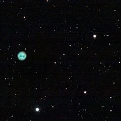 NGC3556 (M108) - Galaxie de la Planche de Surf & NGC3587 (M97) - Nébuleuse (planétaire) du Hibou