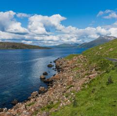 Scenic route, Île de Mull