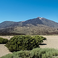 Le Pico Viejo et le Teide