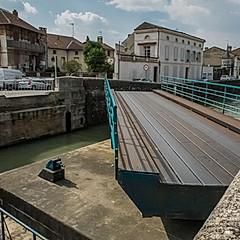 Pont tournant de Saint-Jacques, Moissac