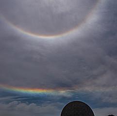 Arc circumhorizontal et halo solaire, Buenos Aires