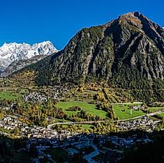 Massif du Mont Blanc, Pré-Saint-Didier, val d'Aoste