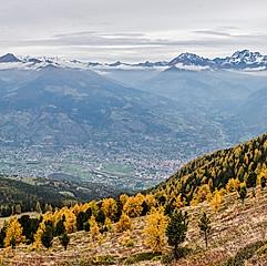 Massif du Mont Blanc - Pila, col du Replan, val d'Aoste