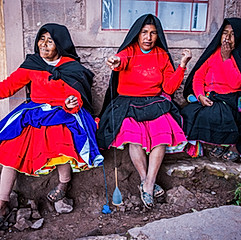 Île de Taquile, Lac Titicaca