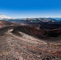 Cráter Navidad y Volcán Lonquimay, Reserva Nacional Nalcas