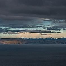 La Cordillère Royale, Amantani, Lac Titicaca, Bolivie