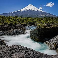 Volcan Osorno & chutes de Petrohué, Chili