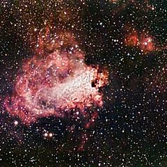 NGC6618 (M17) - Nébuleuse Omega