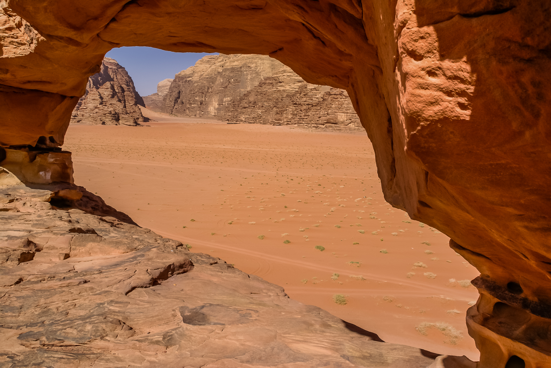 La Petite Arche, Wadi Rum, Jordanie