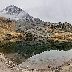 Lac de Chamolé, Petit-Saint-Bernard, Val d'Aoste