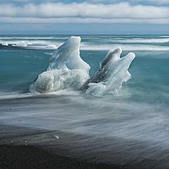 Jökulsárlón, Islande
