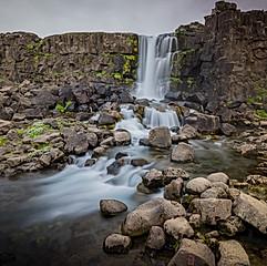 Öxarárfoss, Þingvellir