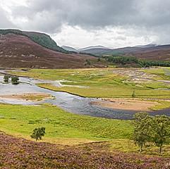 Rivière Dee, Écosse