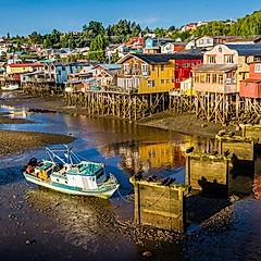 Castro. Île de Chiloé