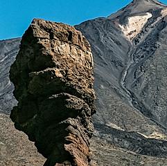 Le Roques de García et le Teide