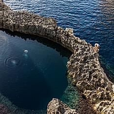 Blue Hole, Gozo