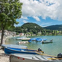 Le Pont, lac de Joux